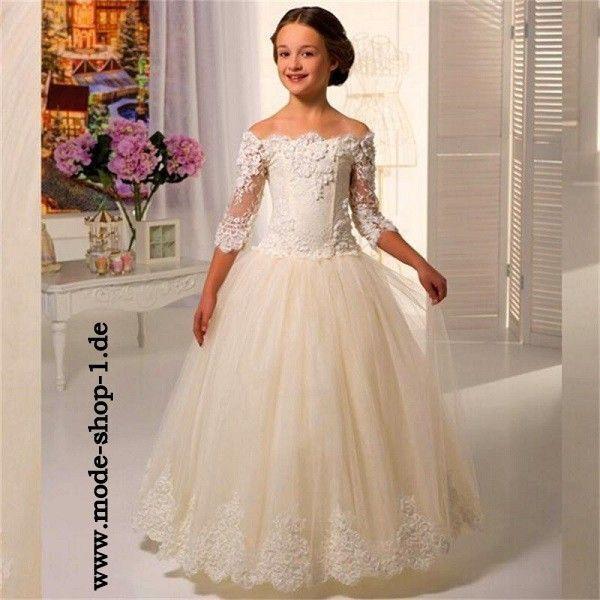 Mädchen Kleid Meinharde  Kleider Für Kleine Mädchen