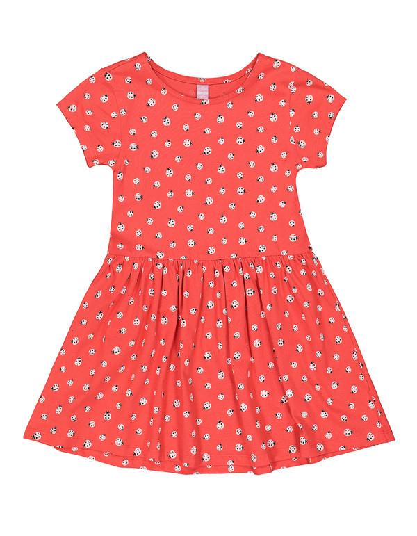 Mädchen Kleid Mit Alloverprint Von Takko Fashion Ansehen