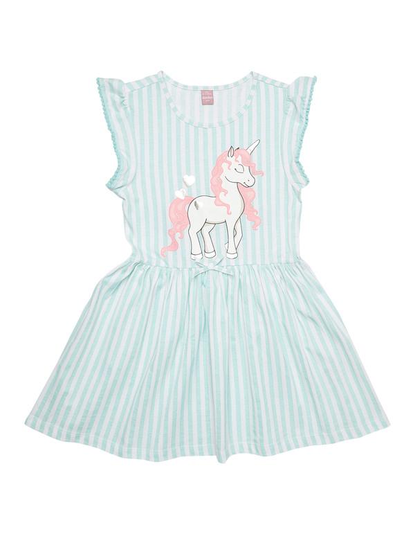 Mädchen Kleid Mit Einhornprint Von Takko Fashion Ansehen