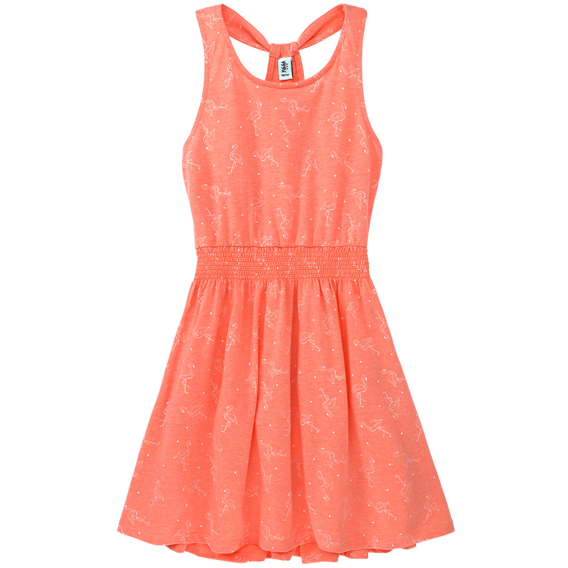 Mädchen Kleid Mit Flamingoallover  Ernsting'S Family