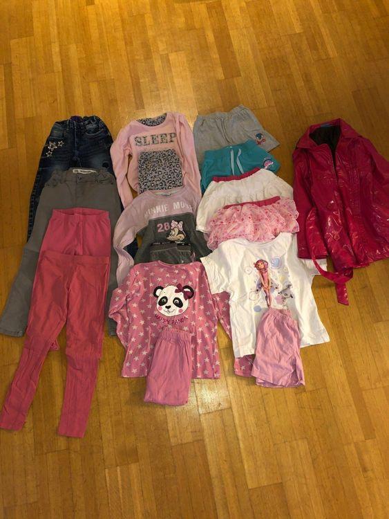 Mädchen Kleider Set 13 Teilig Gr 128 Kaufen Auf Ricardo