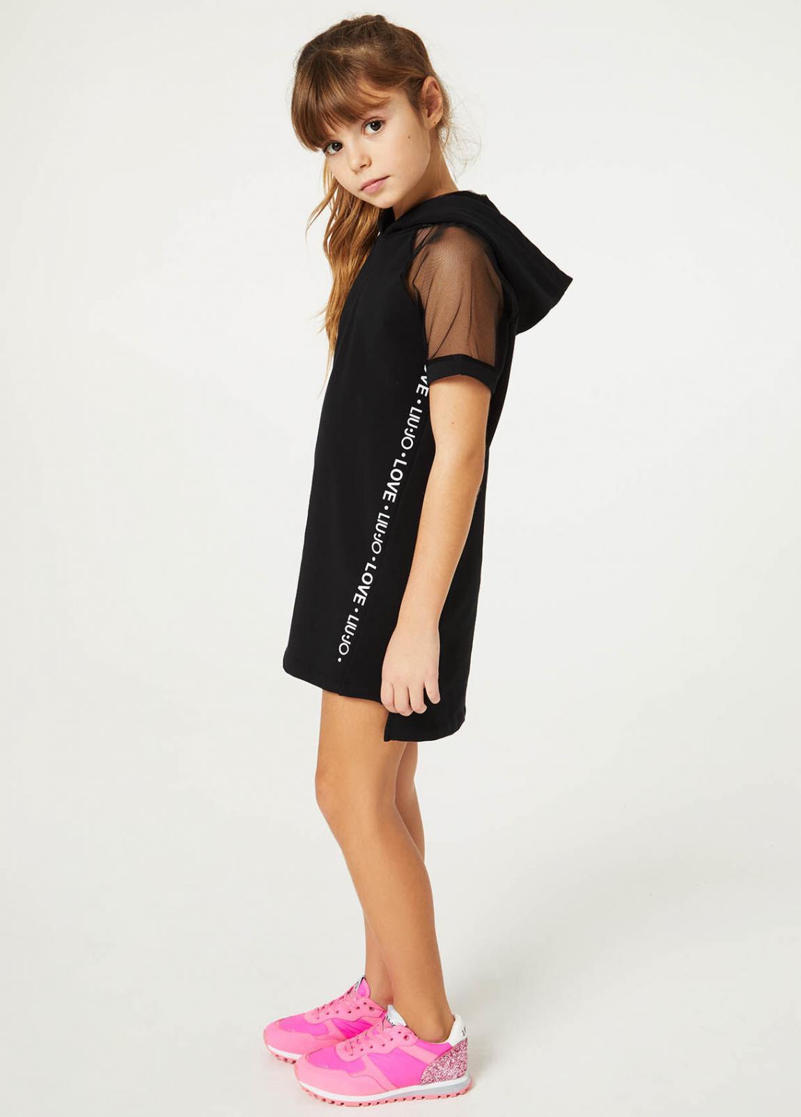 Mädchen Kurzes Kleid Mit Kapuze  Liu Jo Kleider Und