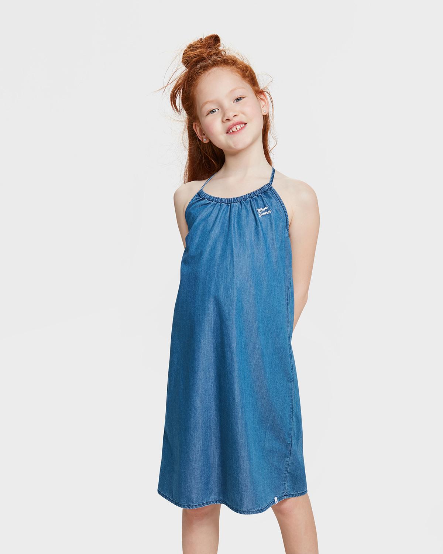 Mädchenjeanskleid  828424130788  We Fashion