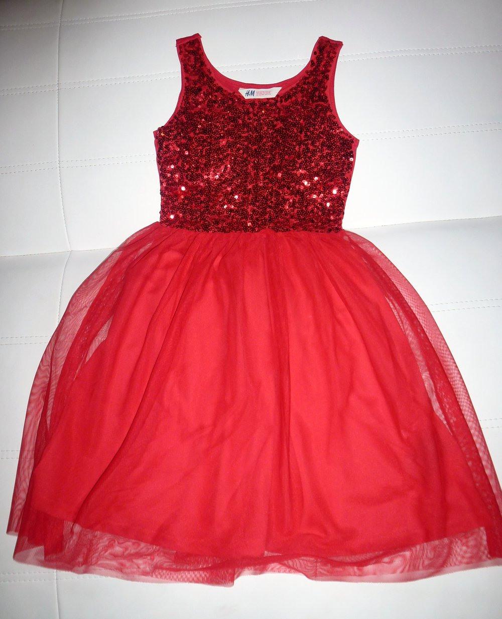 Mädchenkleid In Gr 134/140 Von Hm  Kleiderkorbde
