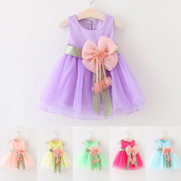 Mädchenkleid Sommerkleid  Kleider  Kinderkleidung  Mit