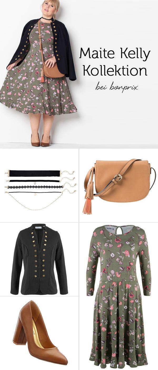 Maite Kelly Blumen Jerseykleid  Maite Kelly Outfit Und
