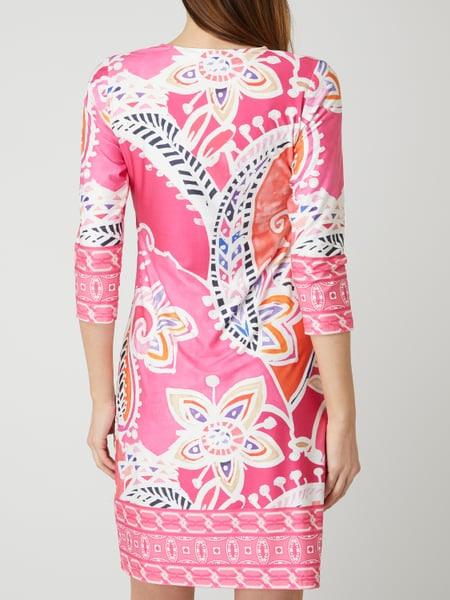 Malvin Kleid Mit Allovermuster In Rosé Online Kaufen