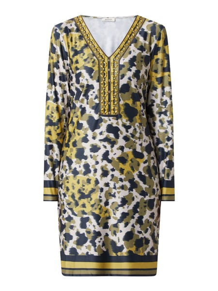 Malvin Kleid Mit Vausschnitt In Gelb Online Kaufen