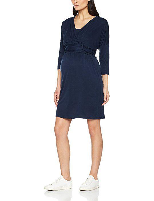 Mamalicious Damen Kleid Mlwinona Tess 3/4 Abk Jersey Dress