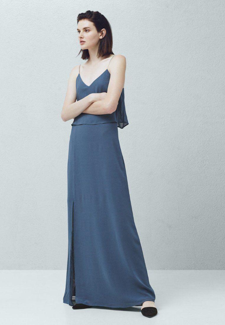 Mango Frida  Maxikleid  Blue Für 7999 € 110116