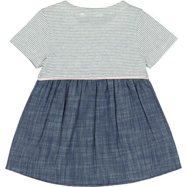 Manguun Kleid Streifen Für Baby Mädchen Von Galeria
