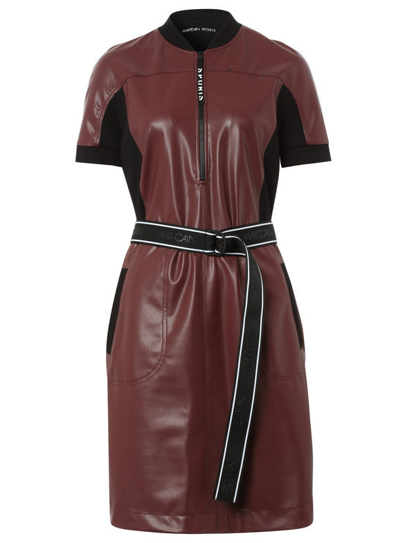 Marc Cain » Kleid In Lederimitat () Online Kaufen