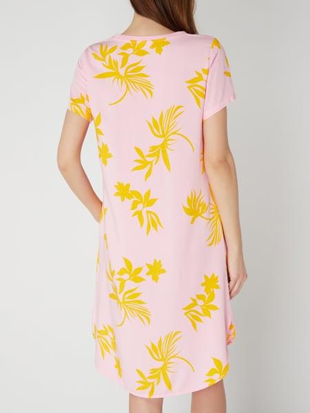 Marc O'polo Denim Kleid Mit Floralem Muster In Rosé Online