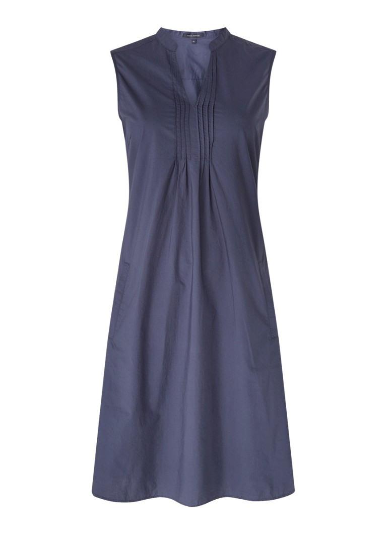 Marc O'Polo Midi-Tunika-Kleid Mit V-Ausschnitt Und