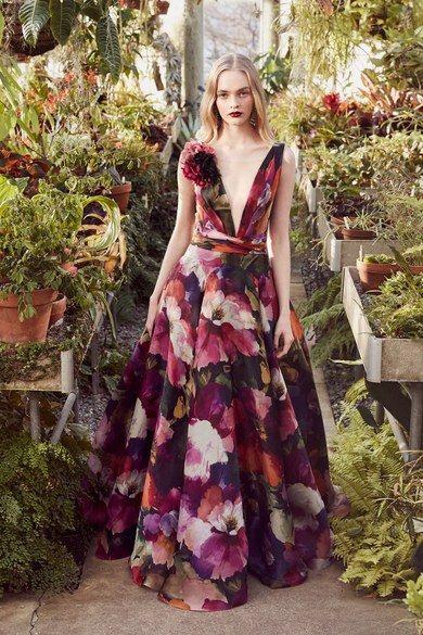 Marchesa Prefall 2019 Fashion Show  Kleider Brautkleid