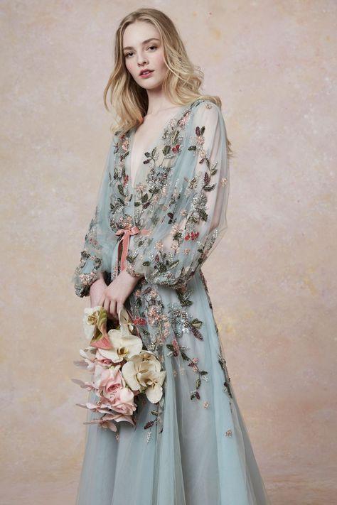 Marchesa Resort 2019 Fashion Show  Schöne Kleider