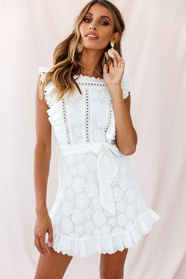 Margot Dress Auf Dennismaglicde Kaufen  Weiße Kleider