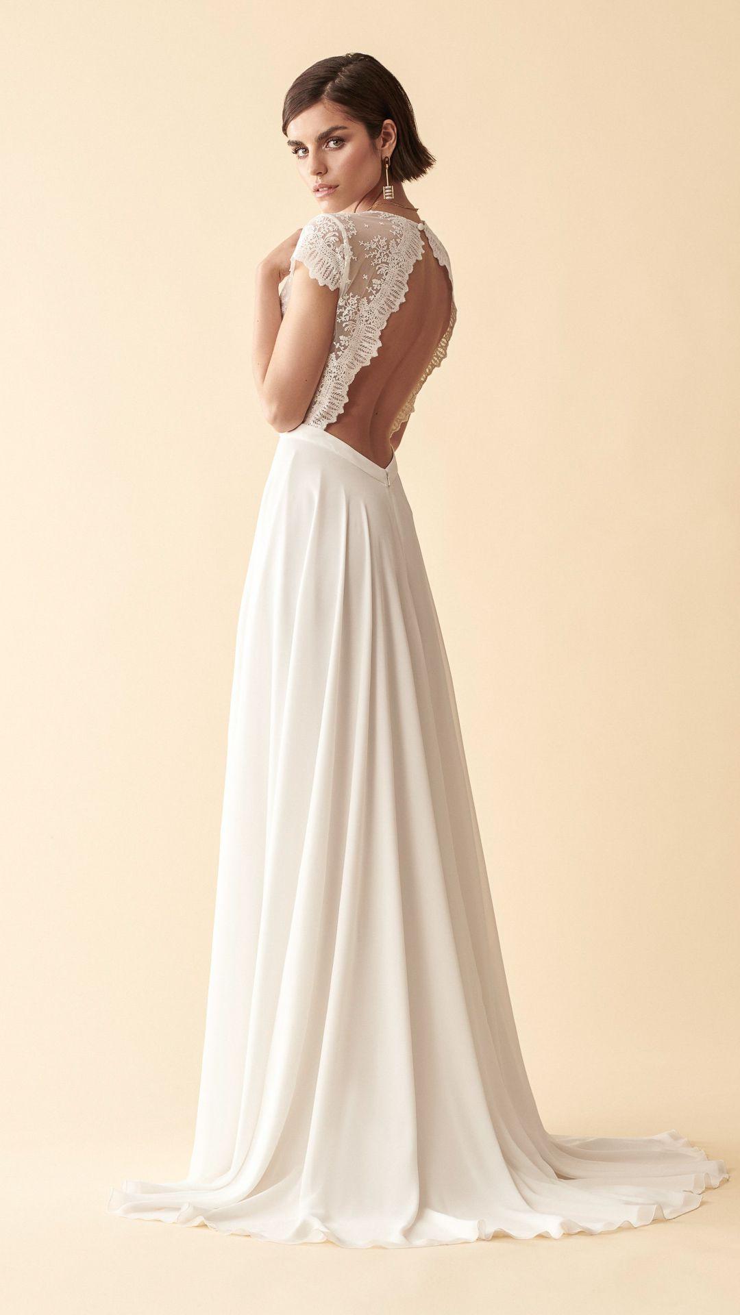Marylise 2020  Brautkleid Kleid Hochzeit Brautkleid Vintage