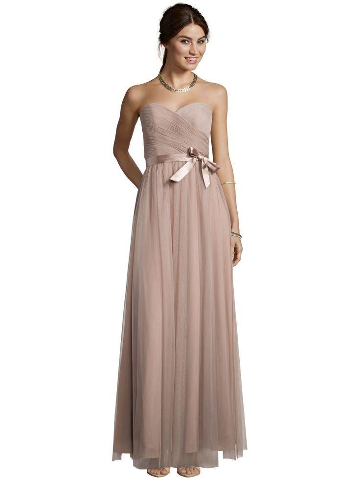 Mascara Abendkleid Aus Feinem Tüll In Braun Online Kaufen