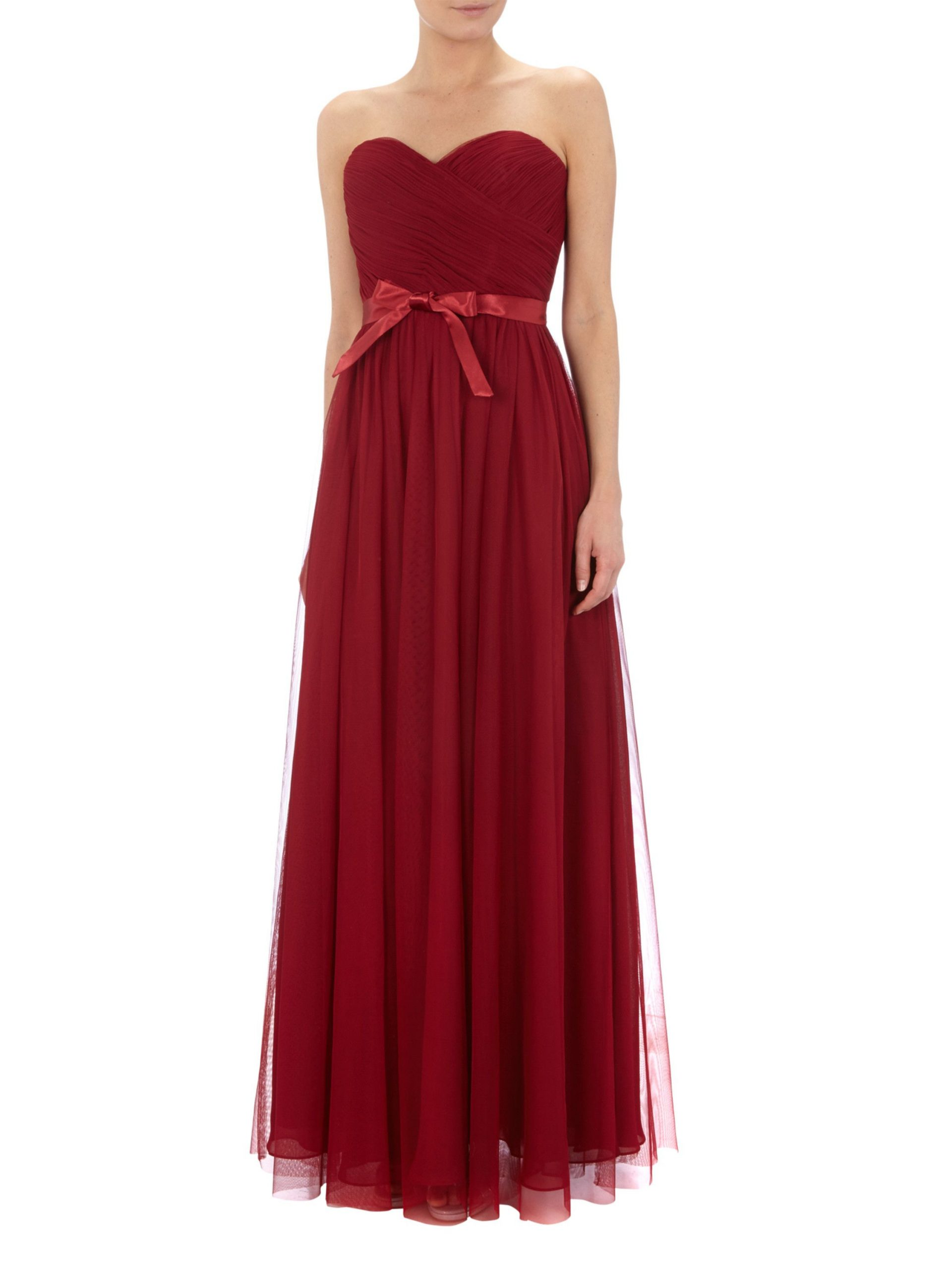 Mascara Kleid Rot  Abendkleider  Elegante Ballkleider