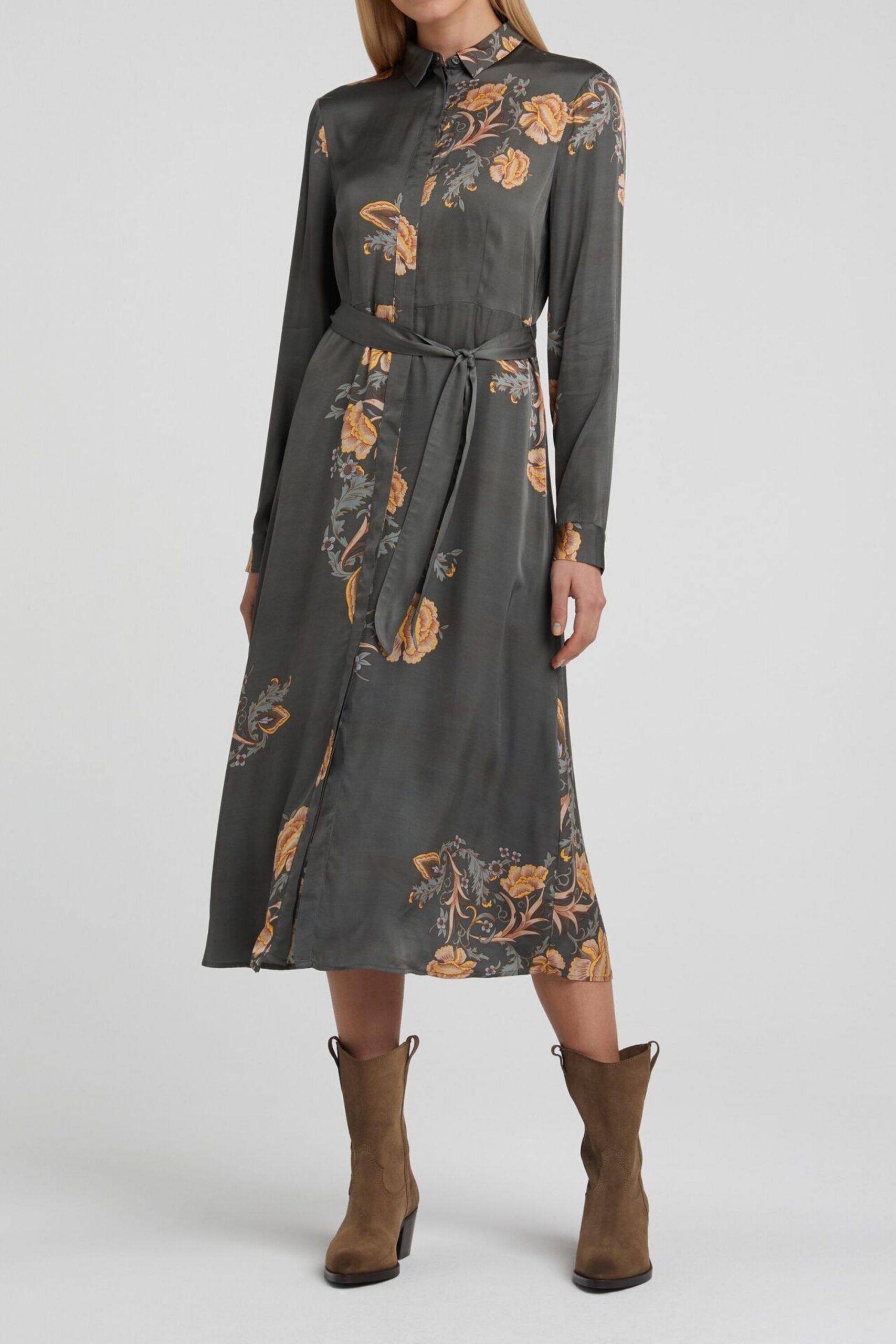 Maxi Kleid Mit Gürtel  Yaya Bei Mode Löning