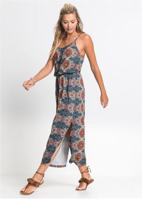 Maxikleid Mit Seitenschlitzen  Maxi Kleider Kleidung Und