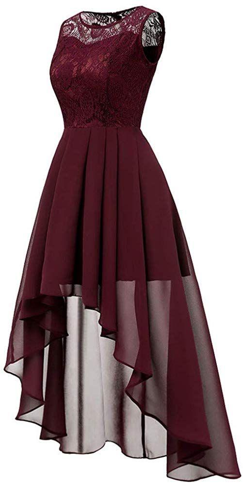Mayogo Vintage Elegant Kleid Aus Spitze Damen