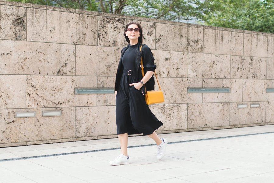 Mbfw Outfit 2 Mit Edited Kleid Adidas Stan Smith Und