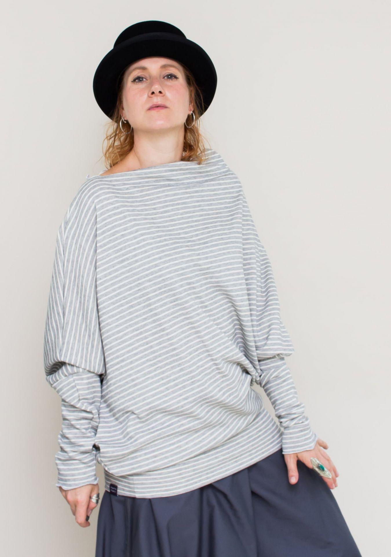 Meda Oversized Pulloverkleid  Doppelgröße Onesize Sl