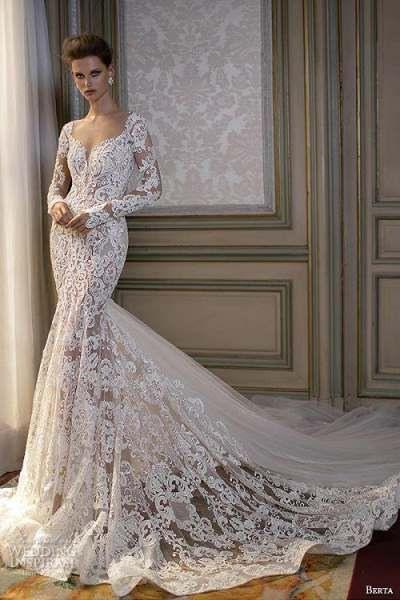 Meerjungfrau Brautkleid Das 50 Sind Die Schönsten  Kleid