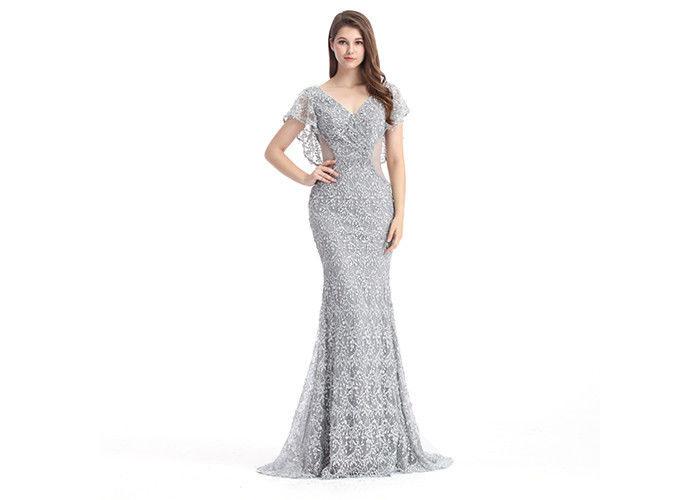 Meerjungfrauarabische Abendkleiderkleider Gewohnheits