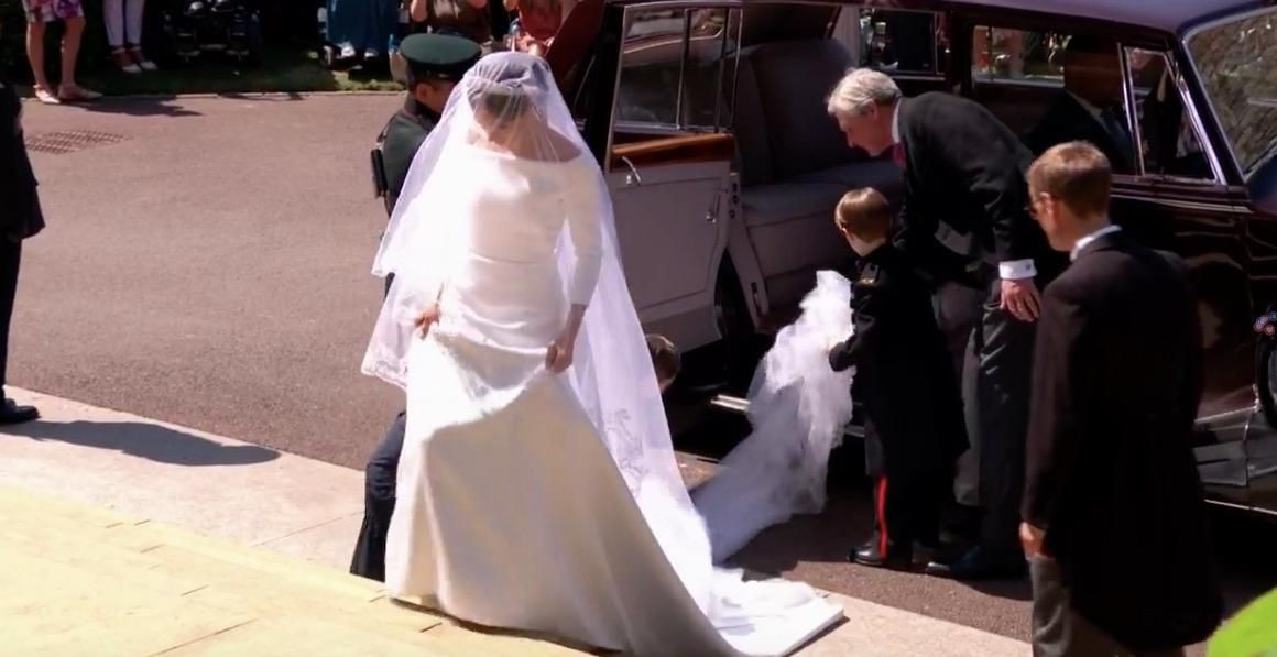 Meghan Markle Erster Blick Auf Sie Als Braut  Kate