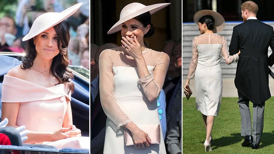 Meghan Markle Raten Sie Wer Die Outfits Von Harrys Frau