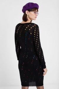Mehrlagiges Wollkleid  Desigual Damen Kleider  Jumpsuit