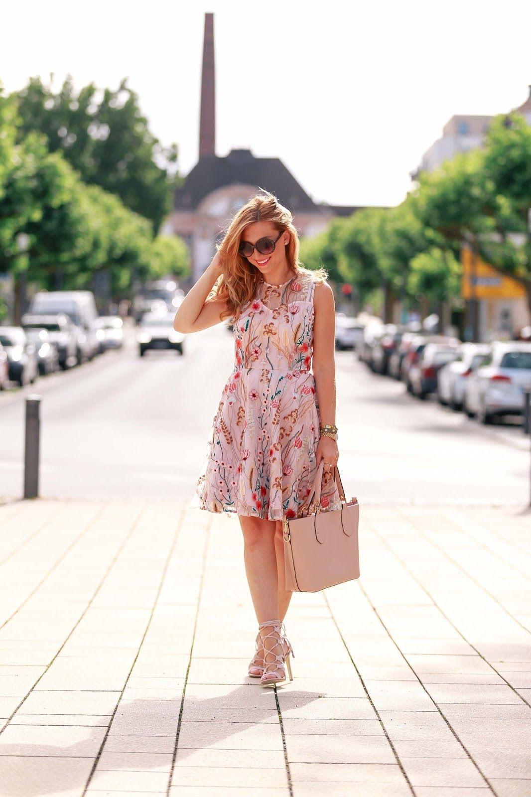 Mein Neues Blumenkleid Von Orsay  Blumenkleid Kleider