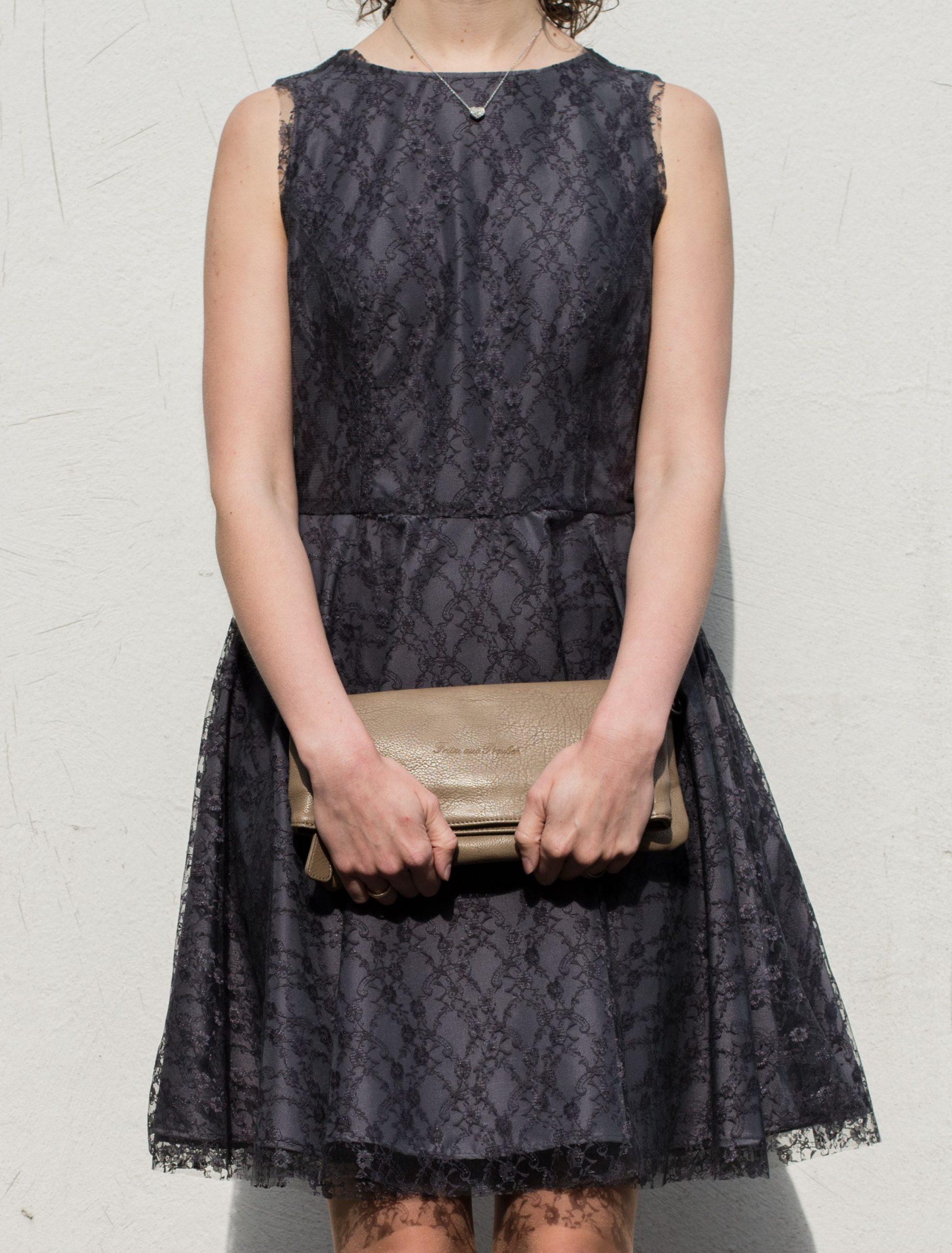 Mein Romantisches Retro Kleid  Kleidung Selbermachen