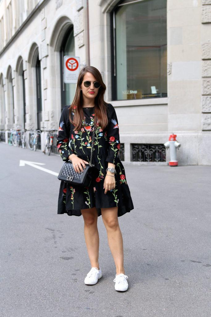 Meine Sommerliebe  Das Zara Blumenkleid  Pieces Of Mariposa