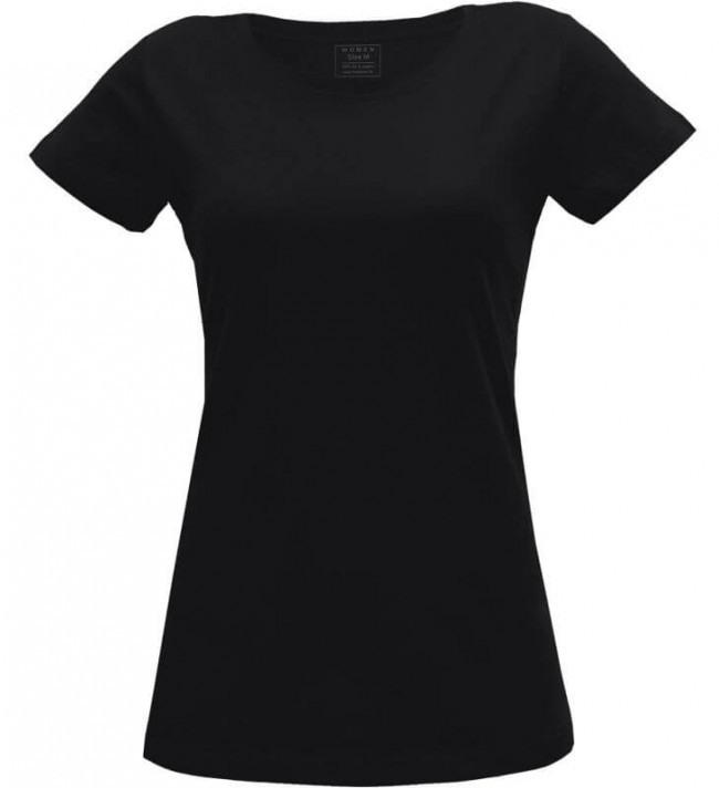 Mela Wear Schwarzes Basic Tshirt Für Damen Im Online Shop