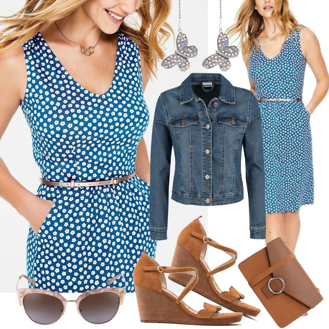 Melinda Jerseykleid Blue Damen Boden Für Damen Zum