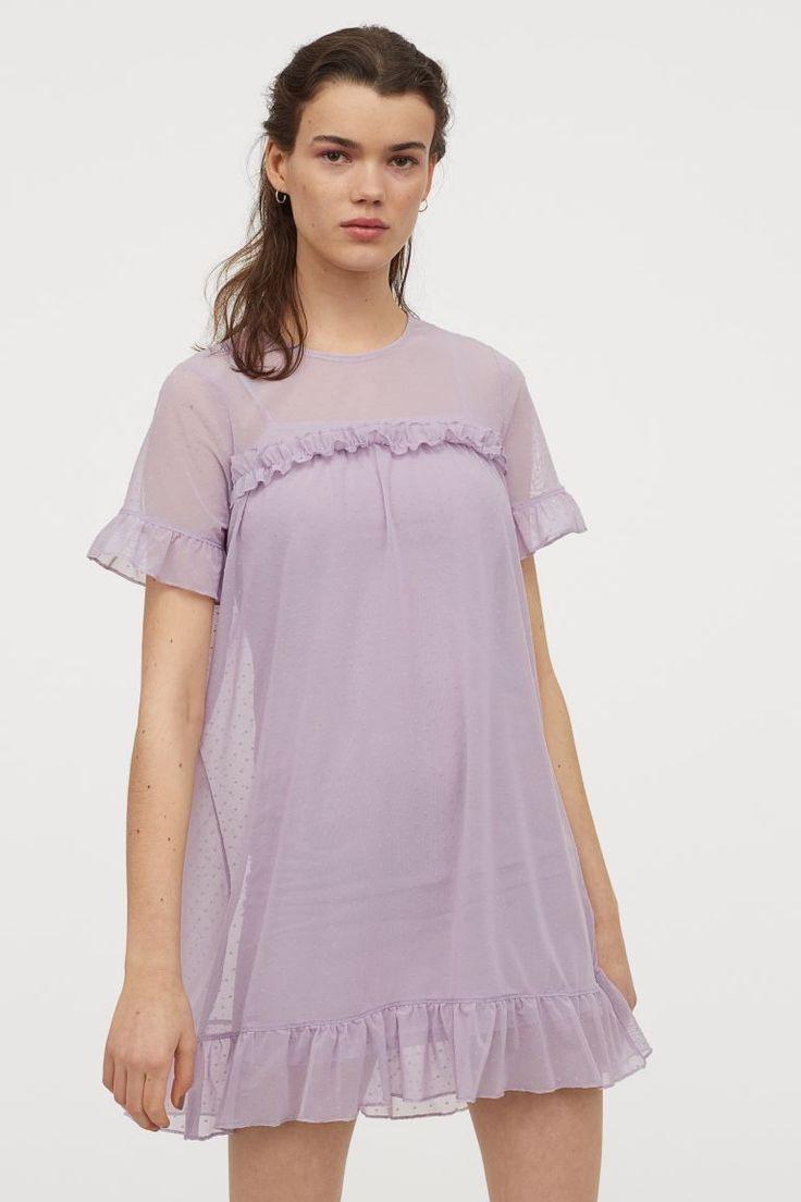 Meshkleid  Lavendel/Gepunktet   Hm De In 2020