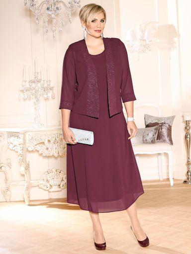 Meyer Mode M Collection Kleid Mit Jacke  Kleid Mit
