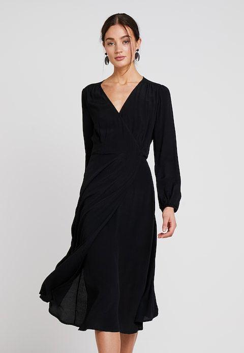 Midi  Freizeitkleid  True Black  Zalandode 🛒  Kleider