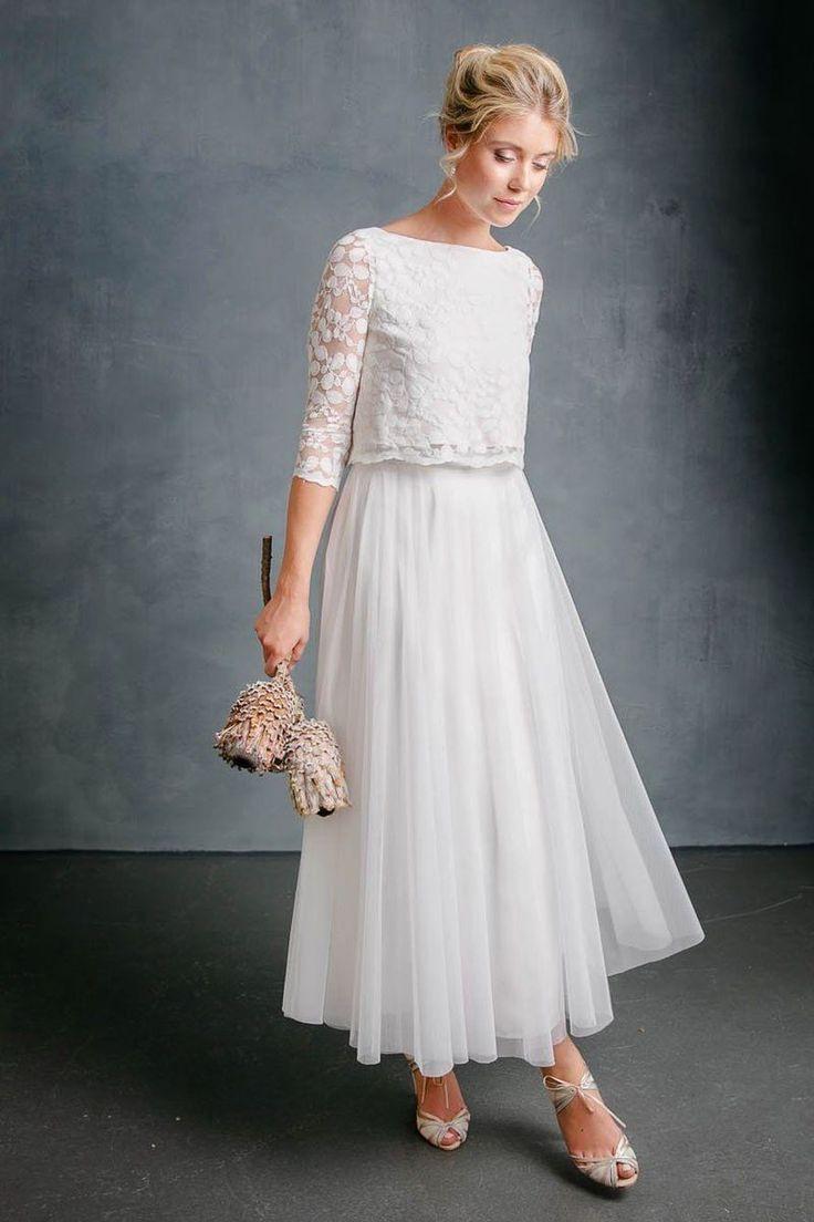 Miditüllrock In Ivory Für Die Hochzeit  Christy In 2020