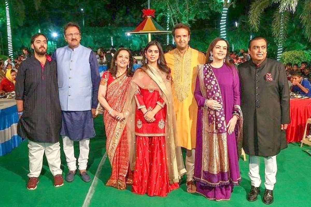 Milliardäre Hochzeit Der Superlative In Indien  Berliner