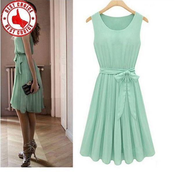 Mint Grün Plissierten Kleid Größe S  Kleider Kleid Mint