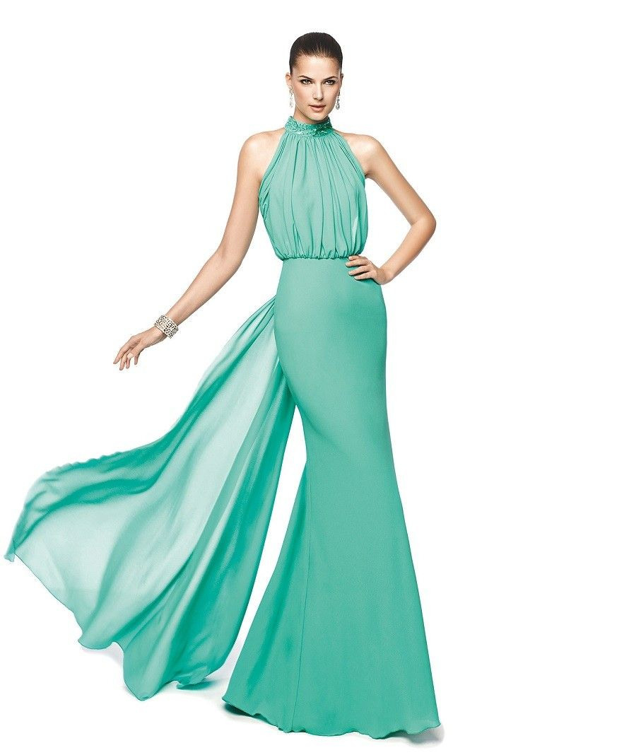 Mintgrünes Bodycon Abendkleid  Vestido De Fiesta Verde