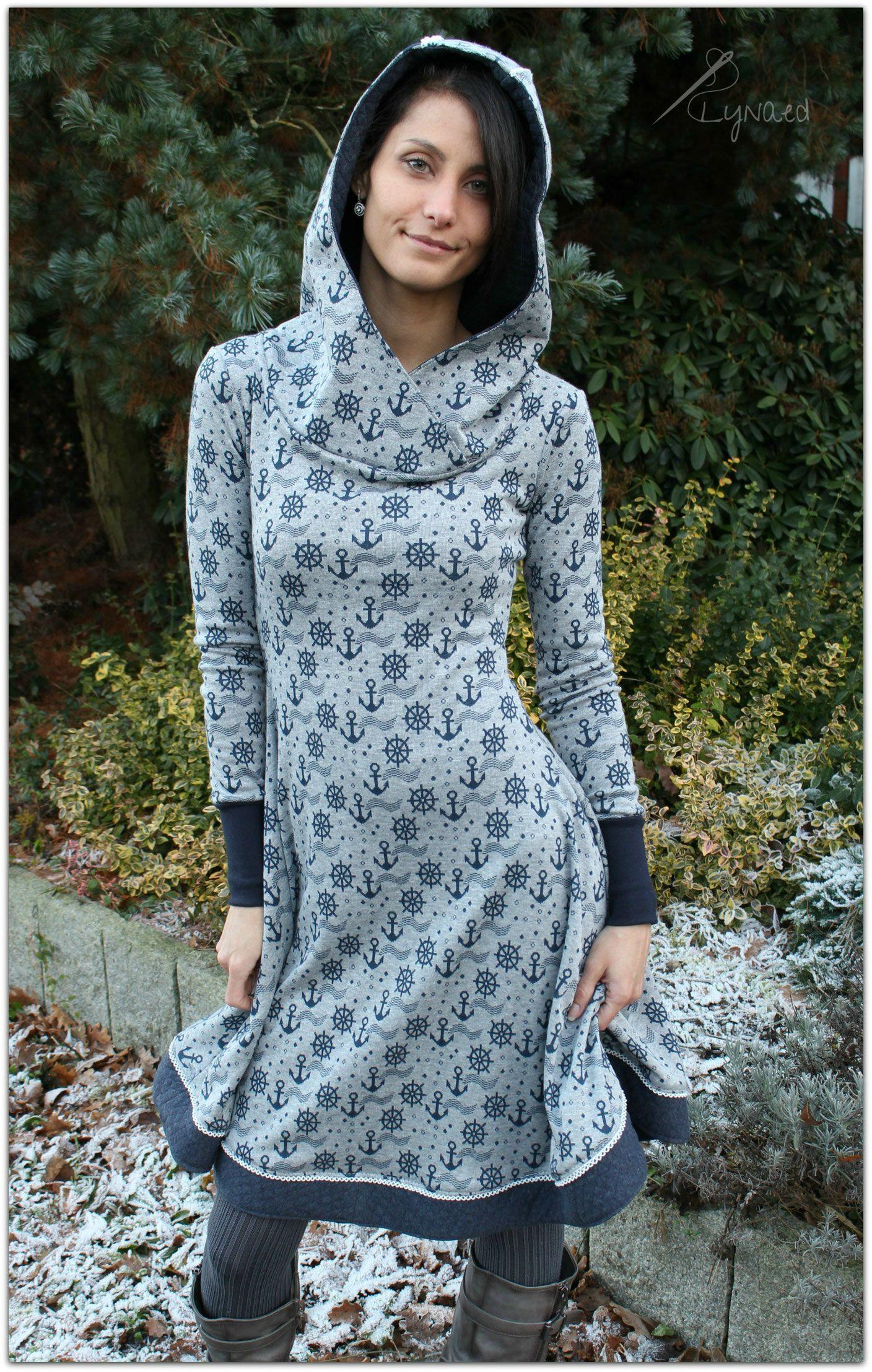 Missy Kleid Nähen Tellerrock Nähen Maritimes Kleid