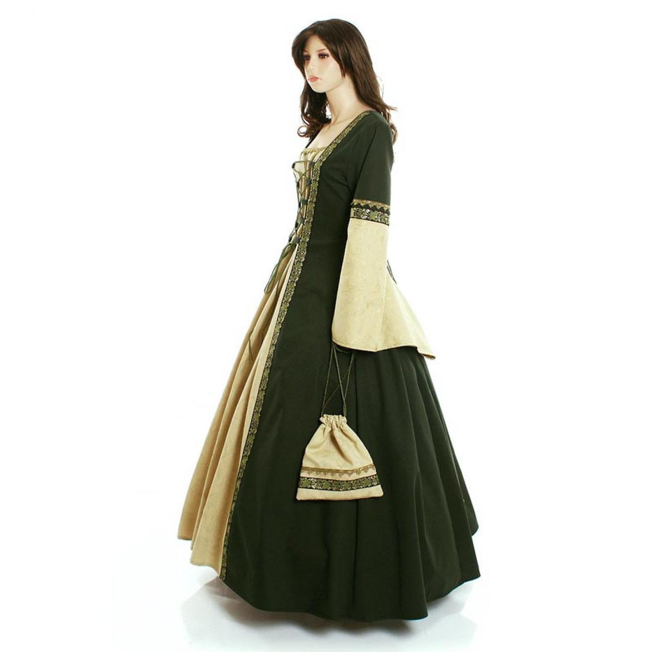 Mittelalter Brokatkleid Hochzeitskleid Nach Maß Auch Für
