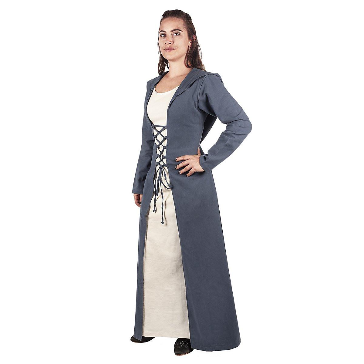 Mittelalter Kleid Mit Kapuze  Hestia  Andracor