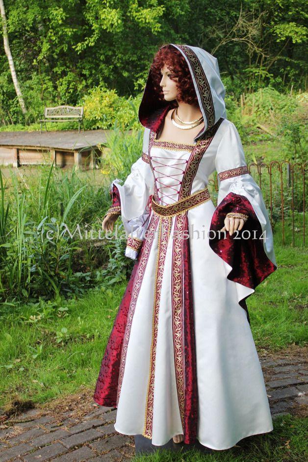 Mittelalter  Mittelalterbrautkleidunghochzeitgewand
